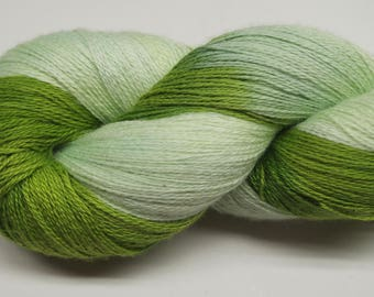 Hand painted Vivacot Bamboo yarn, 2.8 oz, Soothing
