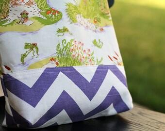 Kid tote bag, Purple, Scripture bag, bible, Beach, pool, library bag, diaper bag, Dance bag, preschool, Book bag, Toddler bag, school bag