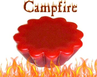 4 Campfire Tarts Wickless Candle Melts Woodsy Earthy Smoky Scent