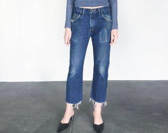 Vintage 70s Distressed Wrangler Jeans (M) 31