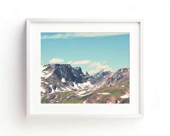 """""""The Bear's Tooth"""" - mountain landscape"""