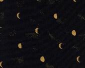 Cotton + Steel Santa Fe - moon phase - night metallic - 50cm