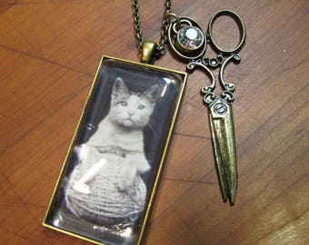 The Crafty Kitten Necklace