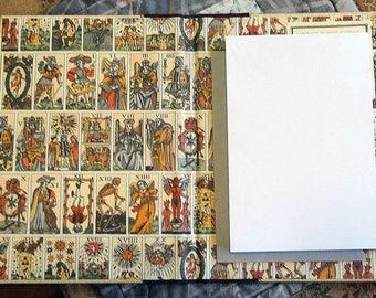 Decorative Tarot Notepad Holder