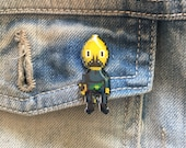 unacceptable! - adventure time earl of lemongrab pin