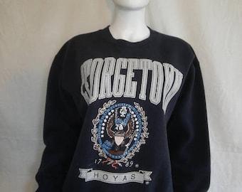 Closing shop SALE 40% off GEORGETOWN University HOYAS Sweatshirt