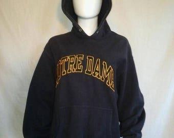 Closing Shop 40%off SALE Notre Dame Fighting Irish Sweatshirt Hoodie