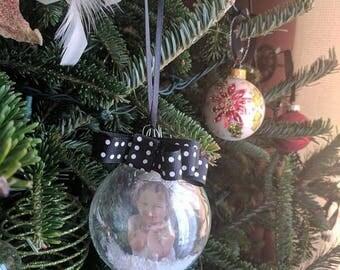 Customized Photo Ornament