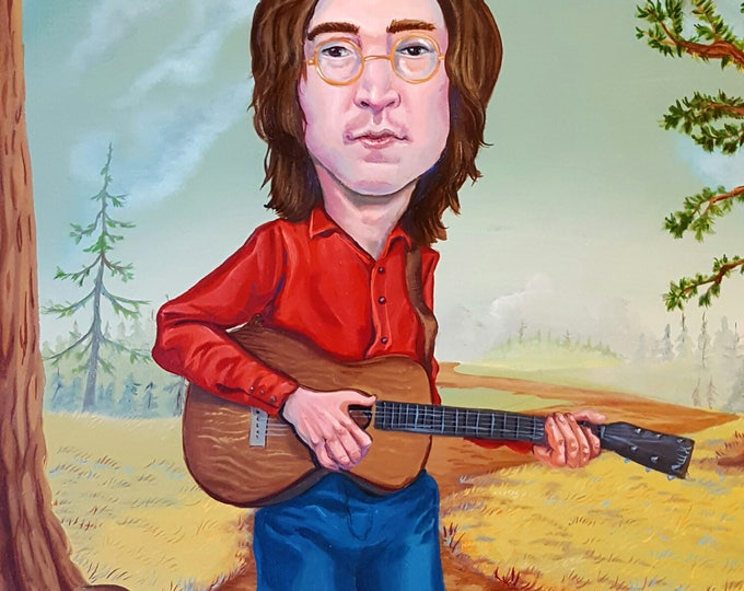 John Lennon - Limited Edition print by Mr. Hooper of Nashville, Tennessee