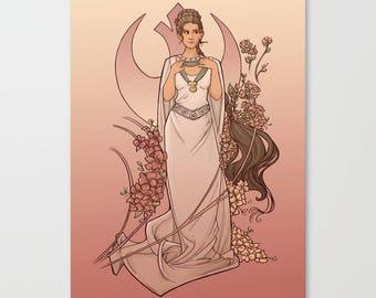 The Alderaan Rose Small Print (Item 03-391-AA)