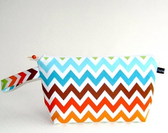 Wedge Bag, Small-Project Knitting Bag, Remix Chevrons