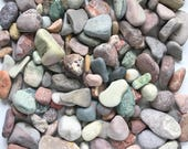 3 lots of colorful stones