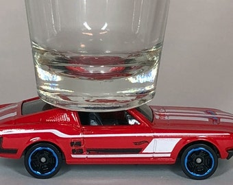 The ORIGINAL Hot Shot, Classic Hot Rods, Shot Glass, '67 Ford Mustang, Hot Wheel