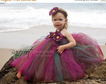 SUMMER SALE 20% OFF Design Your Own Tutu Dress - Sewn Tutu Dress - up to 20'' long - sizes Newborn to 24 months