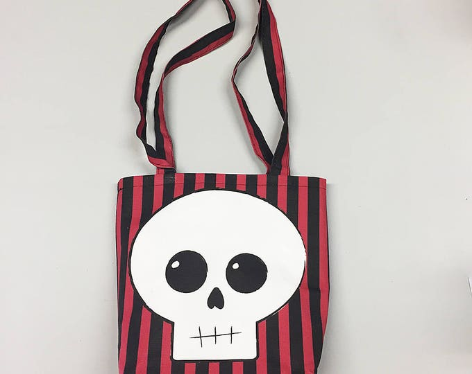 Tote Bag - Skull and Stripes