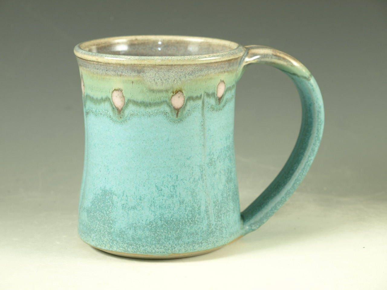 Coffee Mug Cup Large Ceramic Handmade Mugs With Large Handle