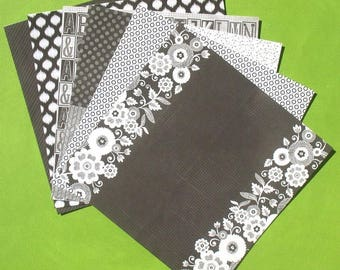 Black Jack - 6x6 Recollections Paper Pack