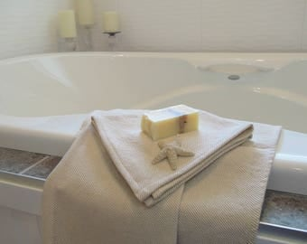 Linen Hand Towels, Bathroom, Guest Towel, Spa, Luxury Towels