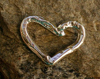 Heart Link in Sterling Silver , RX-HL20
