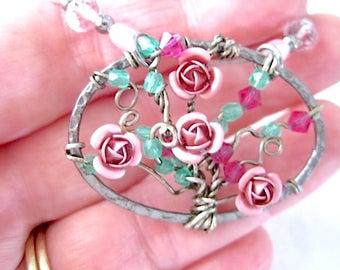 Tutorial - Rose Bush of Love - PDF -EASY - Similar to the Tree of Life