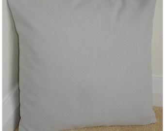 "Gray 26x26 Euro Sham Pillow Cover Grey Cotton 26"" Cushion Case Sham Slip Throw Pillowcase Plain Colour Block Solid Color"