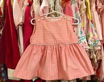 80s Handmade Dress 18/24 Months