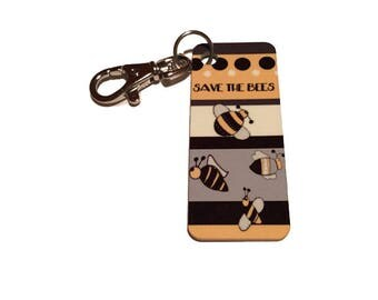 Purse Tag - Save the Bees