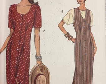 Misses's Dress, Jumper, and Top Sewing Pattern Vogue 8581 Bust 30-34 inches Uncut  Complete