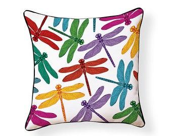 Dragonfly Indoor/Outdoor Pillow