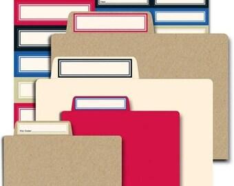 NOW ON SALE Jenni Bowlin Studio Mini File Folders