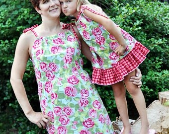 Mommy & Me Pillowcase Top Dress Pattern Bundle
