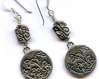 Silver Dangle Sterling Silver Earrings
