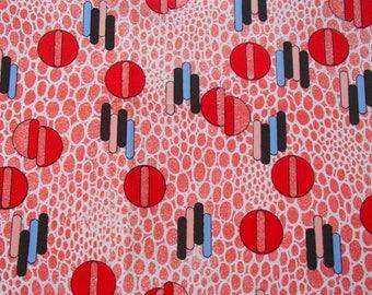 Vintage Fabric / original 60s / graphic / skirt / dress / Europe