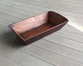 Dough Bowl Trough Farmhouse Tray Primitive