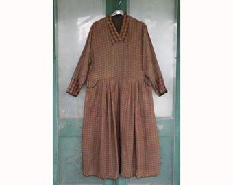 Angelheart Designs 1997 Color-full Reversible Living Easy Dress size M/L