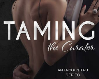 Signed paperback of Taming the Curator