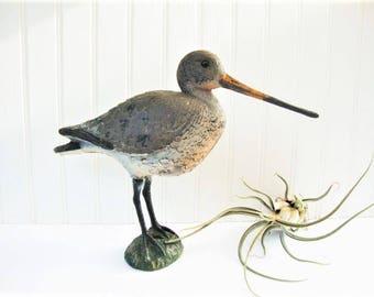 vintage shore bird decoy vinyl  godwit carry lite sport plast