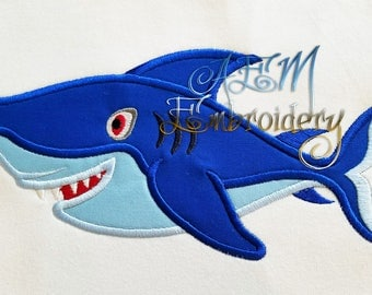 Personalized Shark Shirt or Personalized Shark Birthday Shirt