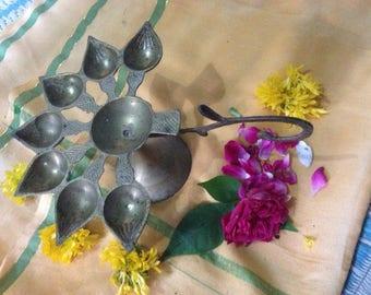 Large Aarti Lamp for Mandir or Home