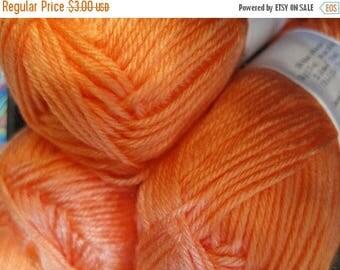 ON SALE Super Soft Melon Cascade Cherub DK Yarn 180 yards Acrylic Nylon Blend Color 14
