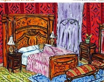 corgi bedroom dog art PRINT 11x14 JSCHMETZ modern abstract folk pop art american ART gift