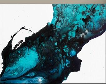 Abstract Art Print 11x14 Print - Contemporary Modern Art by Destiny Womack  - Moondust - dWo