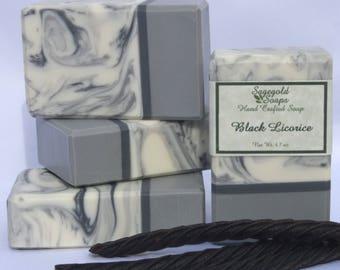 Black Licorice Handmade Artisan Soap