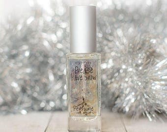 Please Have Snow Perfume   NEW Cream, Spice, Citrus, Sugar and Amber Fragrance