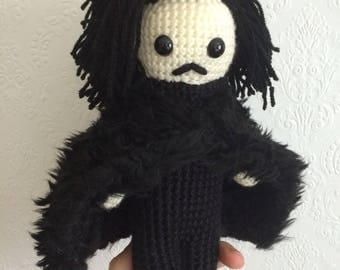 Game of Thrones Jon Snow Amigurumi - Made to order