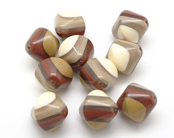 10 pearls plexi top multicolor Browns