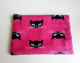 Zippered pocket cat ♥ ♥ ♥
