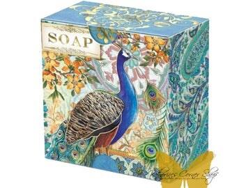 Royal Peacock Green Tea Soap
