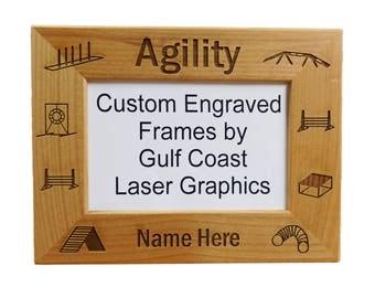 Agility Picture Frame (4x6 photo) Landscape