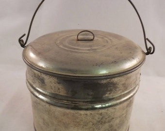 Vintage Berry Bucket Tin